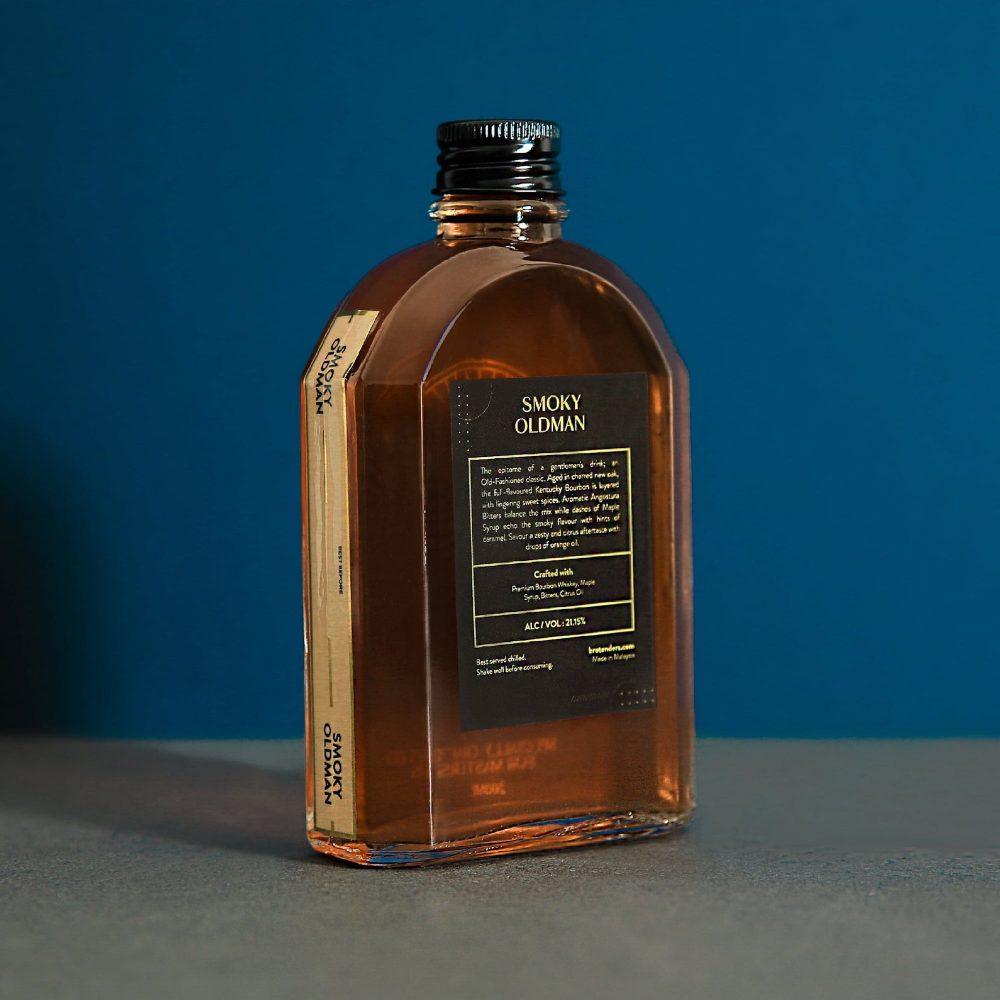 Smoky OldMan Cocktail